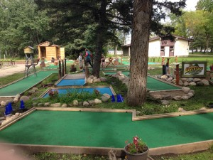 NEW MINIATURE GOLF COURSE - 2014