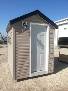 BATHROOM SHED