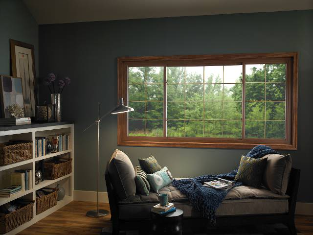 Sliding windows by ABC Windows And More offers amazing views with limited frame obstruction