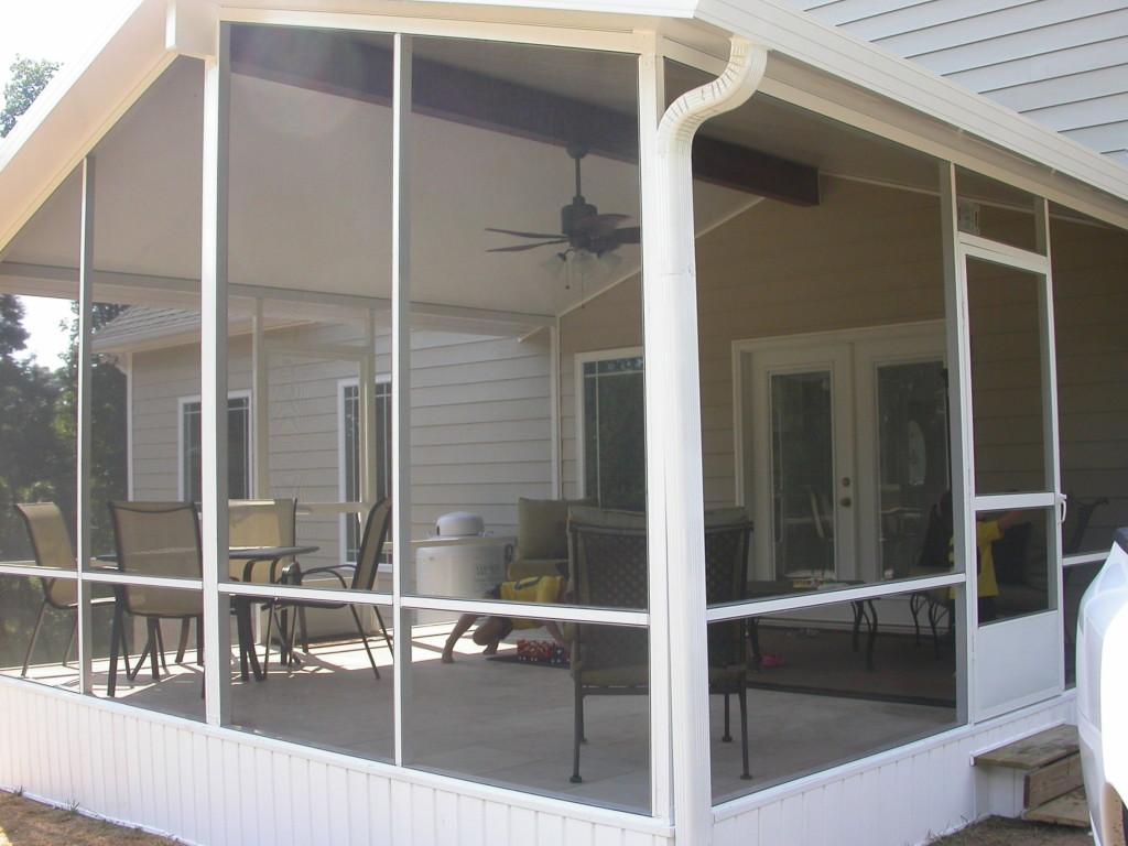 Screen room - sunroom ABC Windows And More Perrysburg Ohio