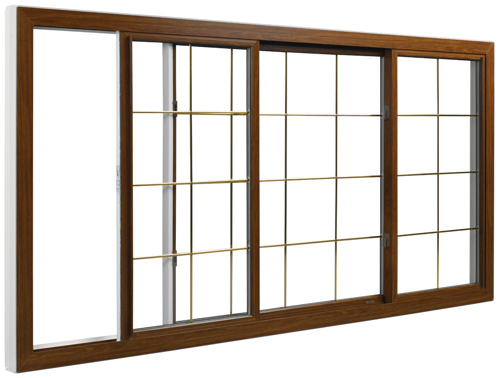 Multiple sliding window configurations are available