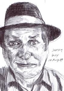 Sam Jersey Boy drawing