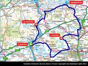 map Glenfarg