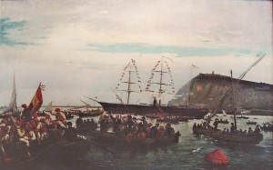 00-ramon-padrc3b3-i-pijoan-the-embarkation-of-the-catalan-volunteers-for-the-cuban-war-in-the-port-of-barcelona-1870