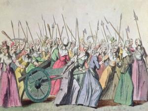 women to Versailles
