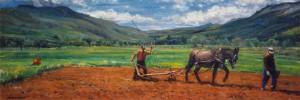 172 - La semina delle patate - olio - 1993_94
