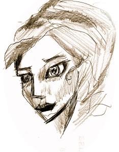 Faustina drawing