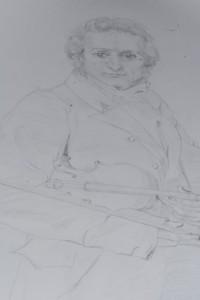 Paganini drawing
