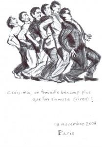 Sam Andrew, dessin