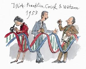 DNA Franklin Crick Watson