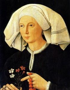 Anonymous, Flemish School, Portrait of a Woman (c.1480)