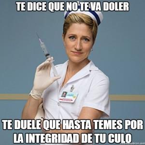 enfermera culo