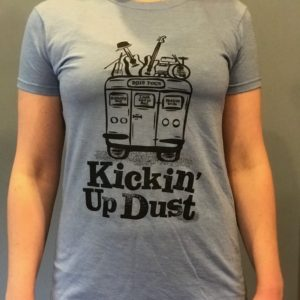 Women's light blue t-shirt