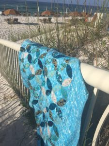 Image of Quilt at Beach