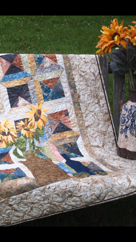 Image of Quilt with Flange
