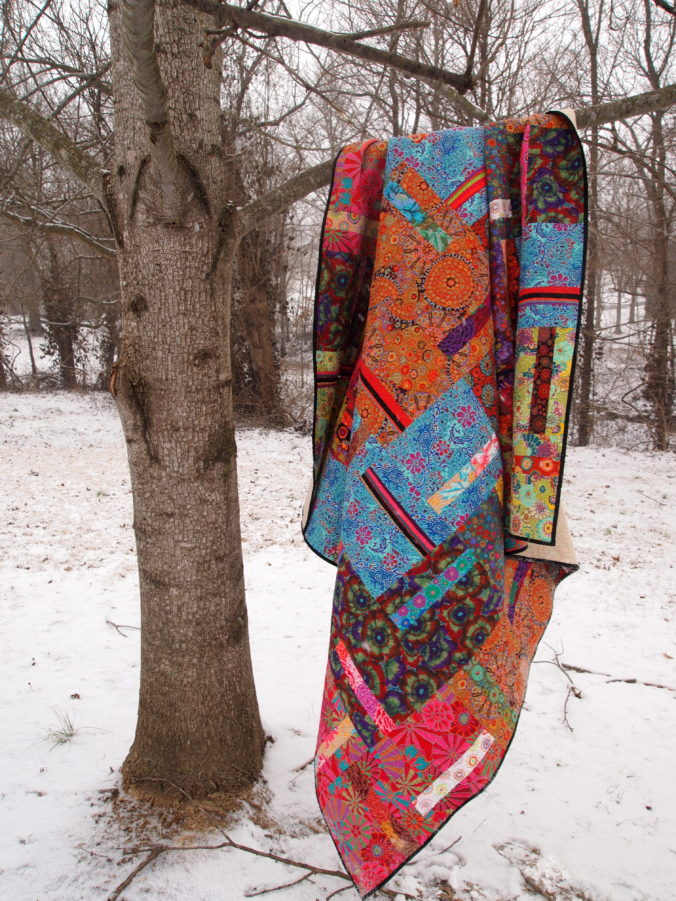 Image of Quilt in Tree