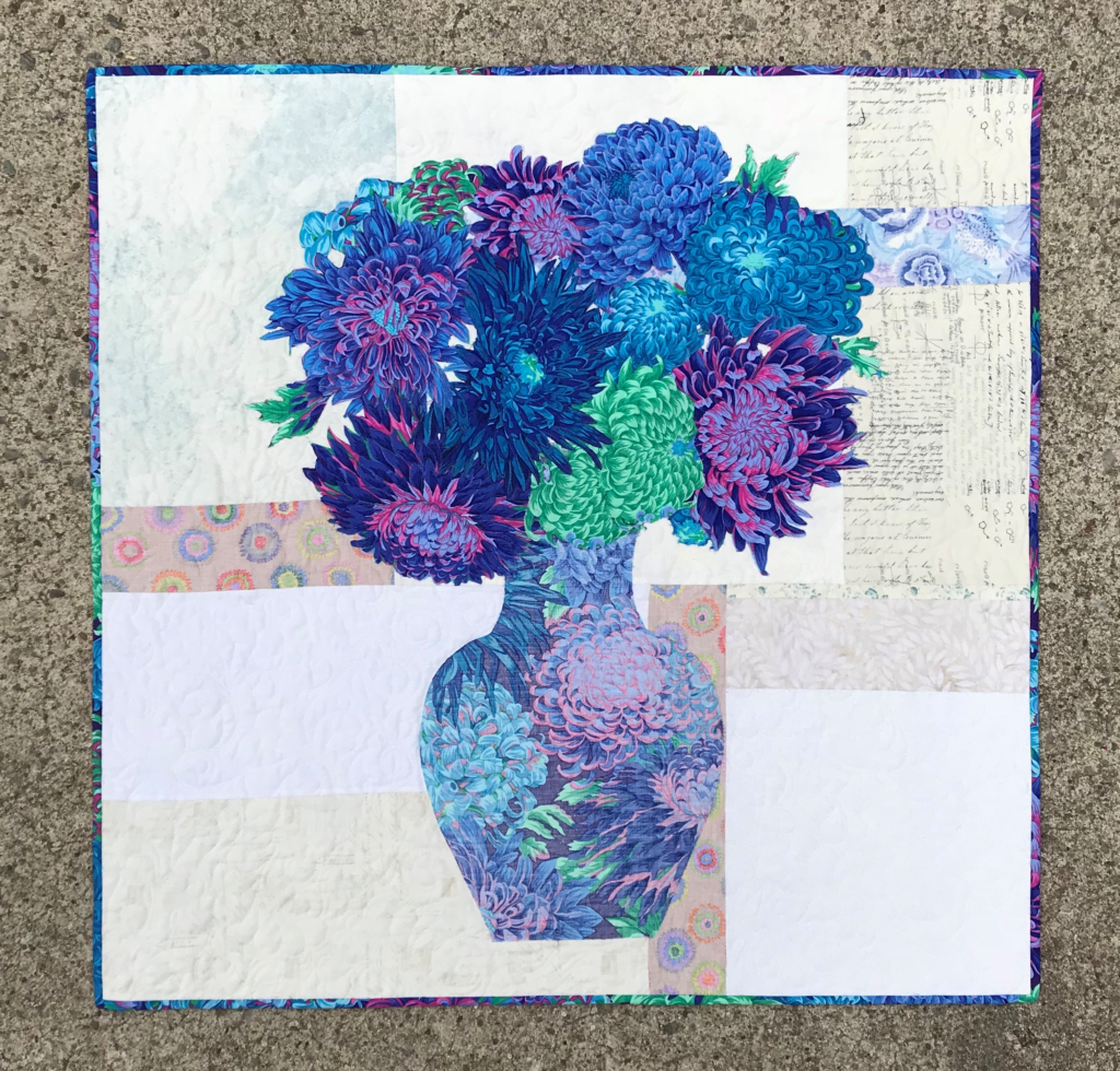Image of Vase and Bouquet Quilt