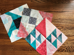 Image of Three Quilt Blocks
