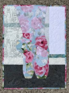 Image of Pointe Shoe Quilt