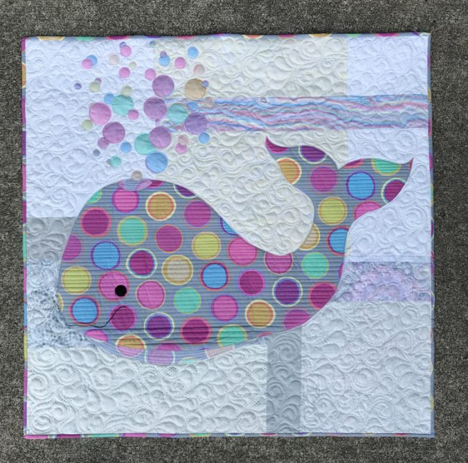 Image of Whale Quilt