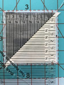 Image of Block and Ruler