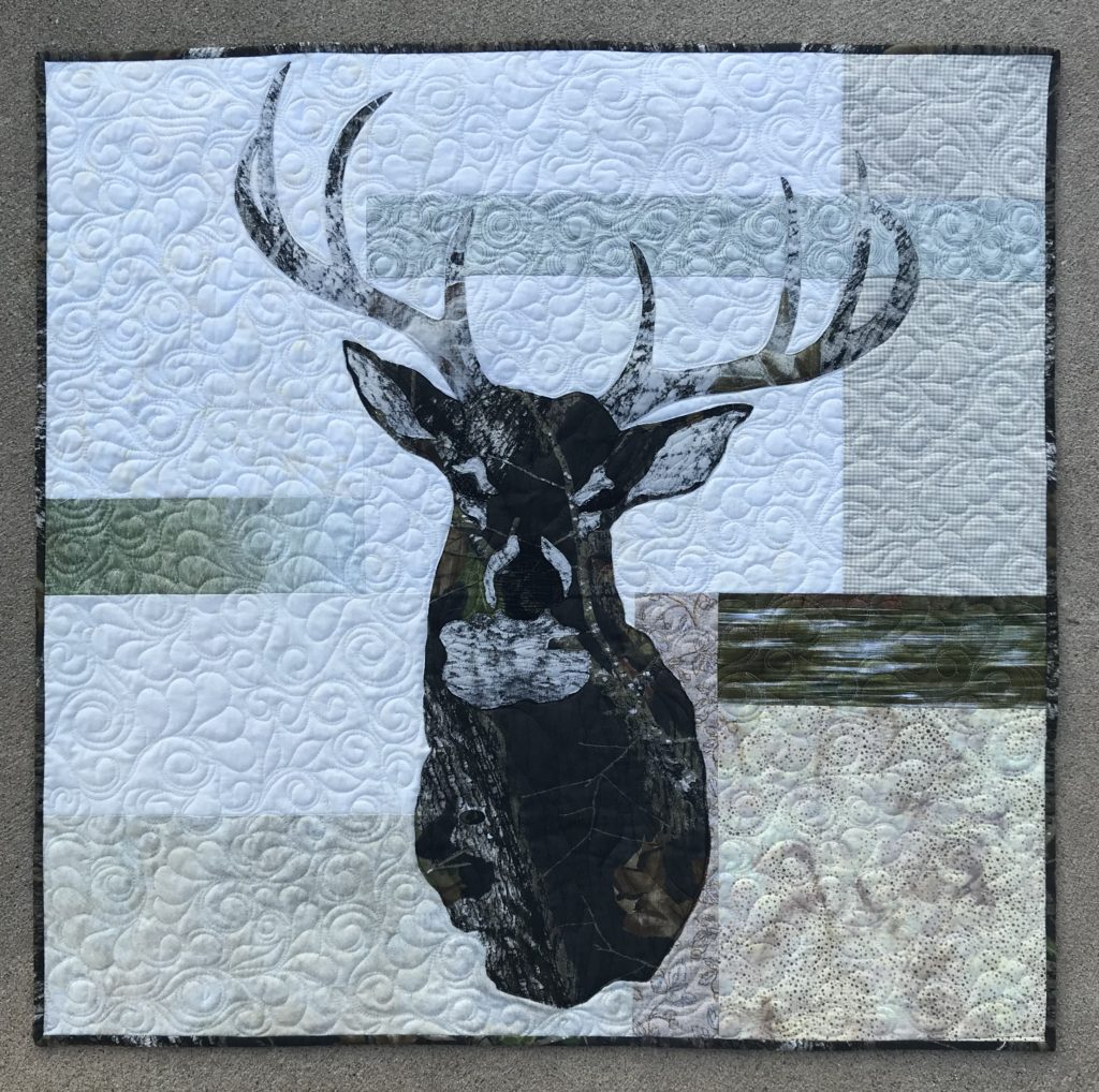 Image of Deer Mount Quilt