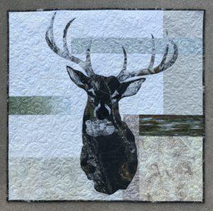 Image of Deer Mount Quilt