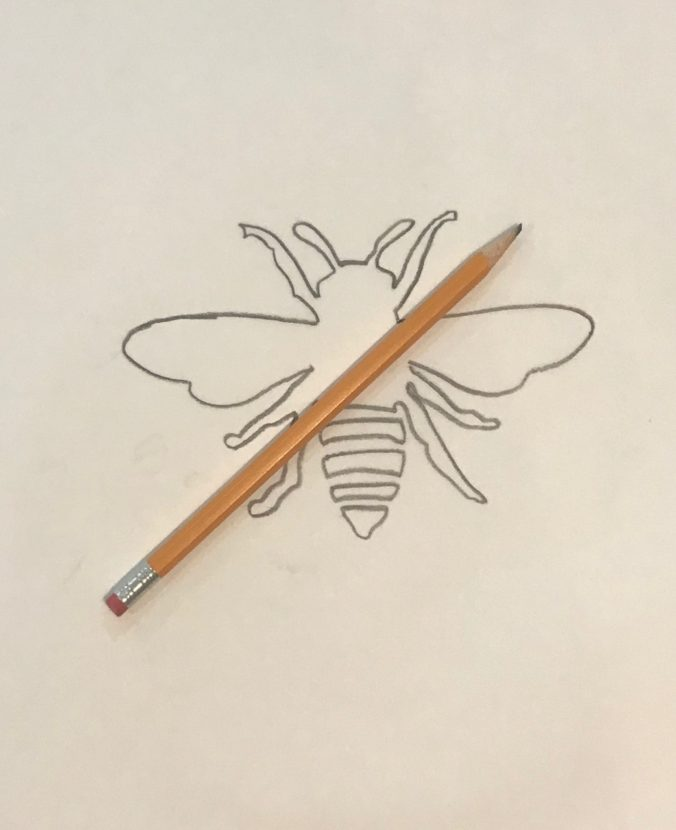 Image of Bee Tracing