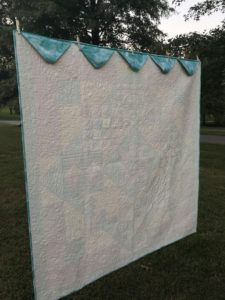 Image of Back of River Heritage Quilt