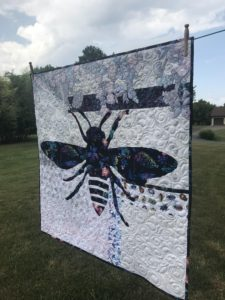 Image of Quilt on Clothesline