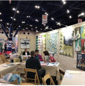 Image of Phoebee at Quilt Market