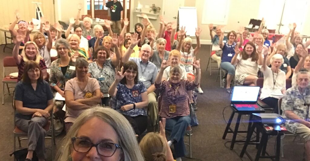 Image of Twilight Stitchers Quilt Guild Selfie