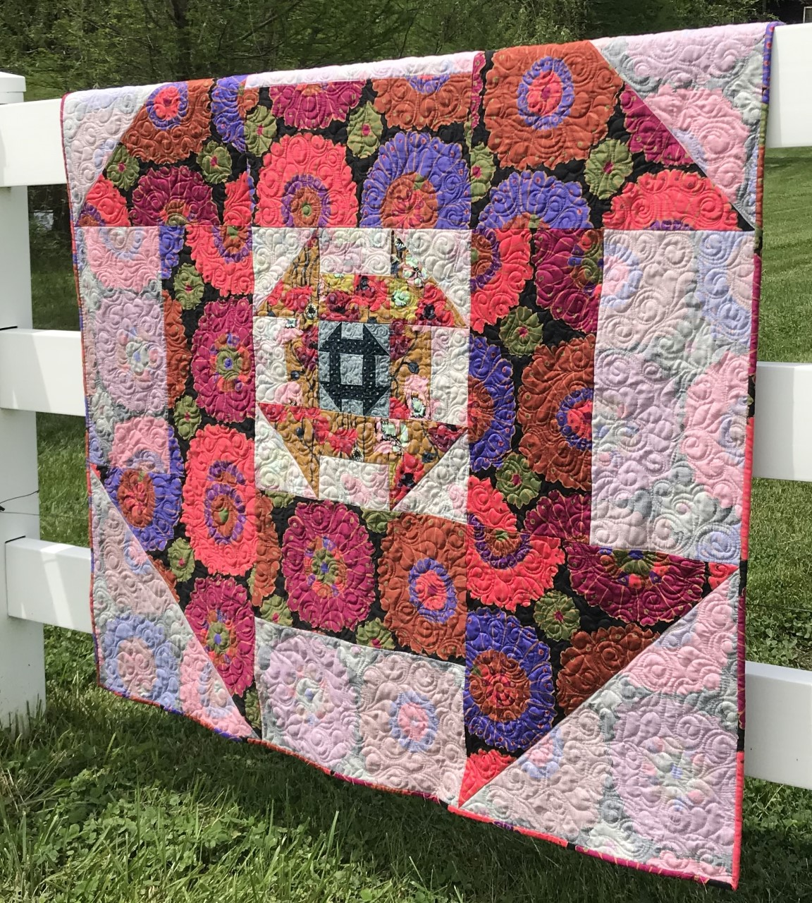 Aria Quilt Pattern by Creative Bee Studios