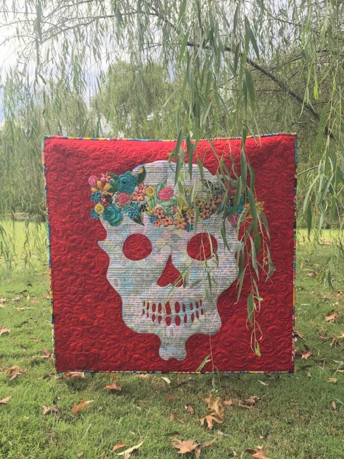 Image of jSugar Skull Quilt
