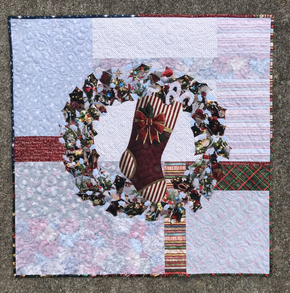 Image of Holly Wreath Hanging