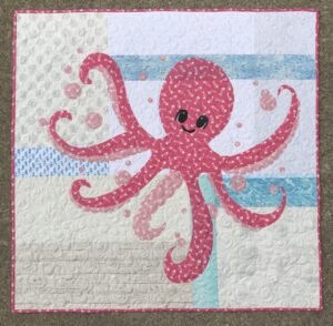 Image of Octopus Quilt.