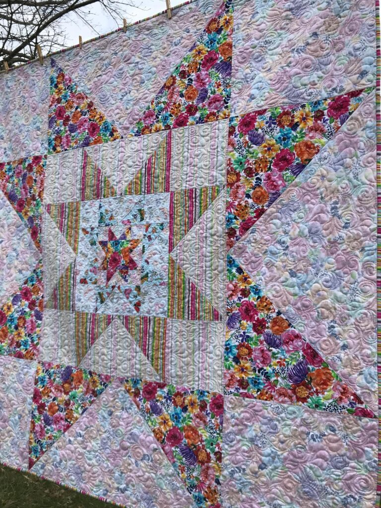 Image of VariLovable Star Digital Download Quilt Pattern