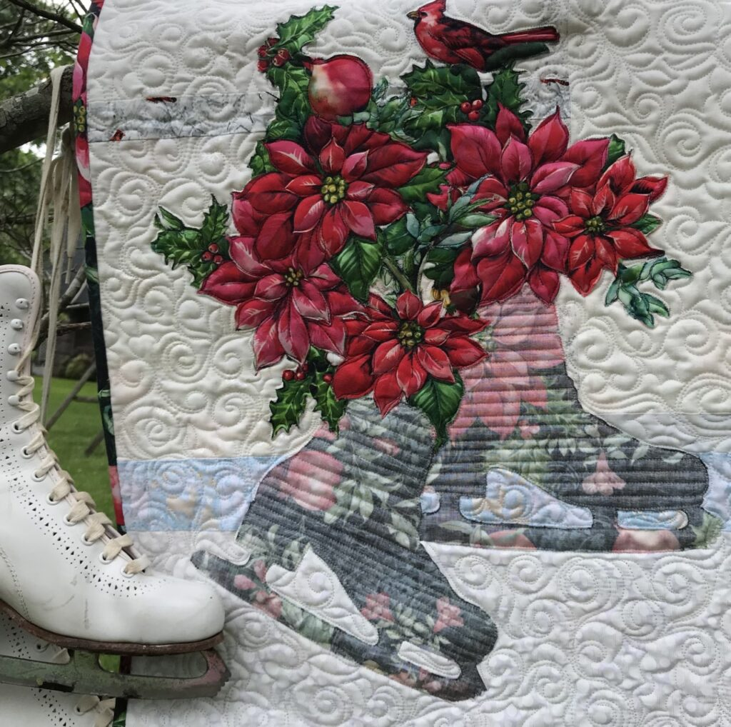 Image of Skates Bouquet Quilt