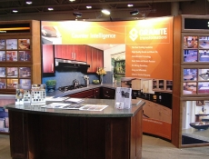 Information trade show display