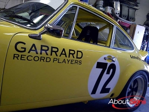 Custom race car numbers and decals Oakville