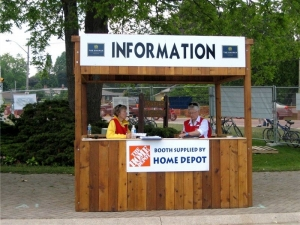 Home Depot Directional Sign