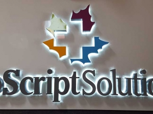 Halo Lit Channel Letters - BioScript Solutions