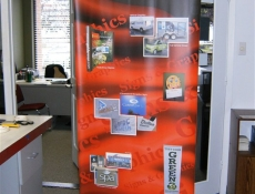 About Signs banner stand