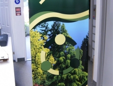 Ecopartners banner stand
