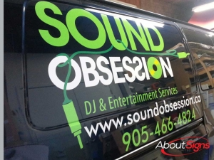 Commercial Van Graphics Mississauga