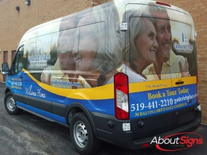 Full transit wrap Mississauga