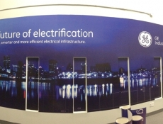 Wall graphic GE