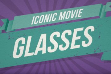 Iconic Movie Glasses [Infographic]