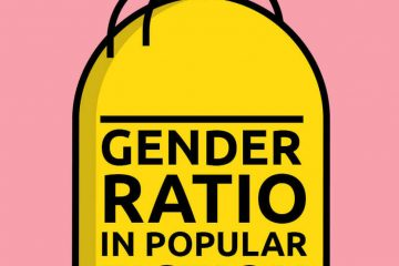 gender ratios in pop fiction