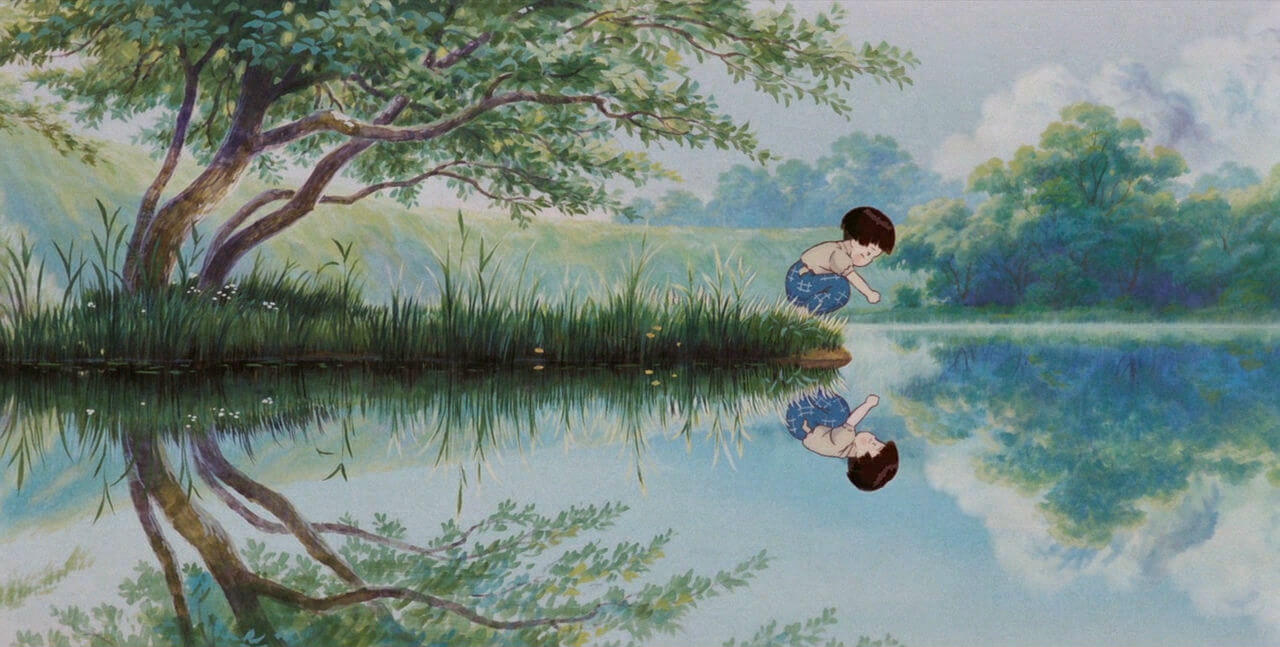 Still from Grave of the Fireflies (1988)
